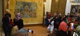 نقالی و شاهنامه خوانی در موزه فرش استادرسام عرب زاده