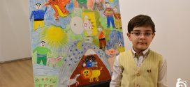 نمایشگاه نقاشی صلح با شاهنامه برگزار شد (گزارش تصویری)