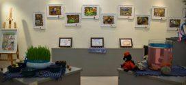 """نخستین نمایشگاه گروهی نقاشی کودکان با موضوع  """"شاهنامه و خیال کودکانه"""" برگزار شد"""