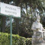 تندیس فردوسی در ایتالیا