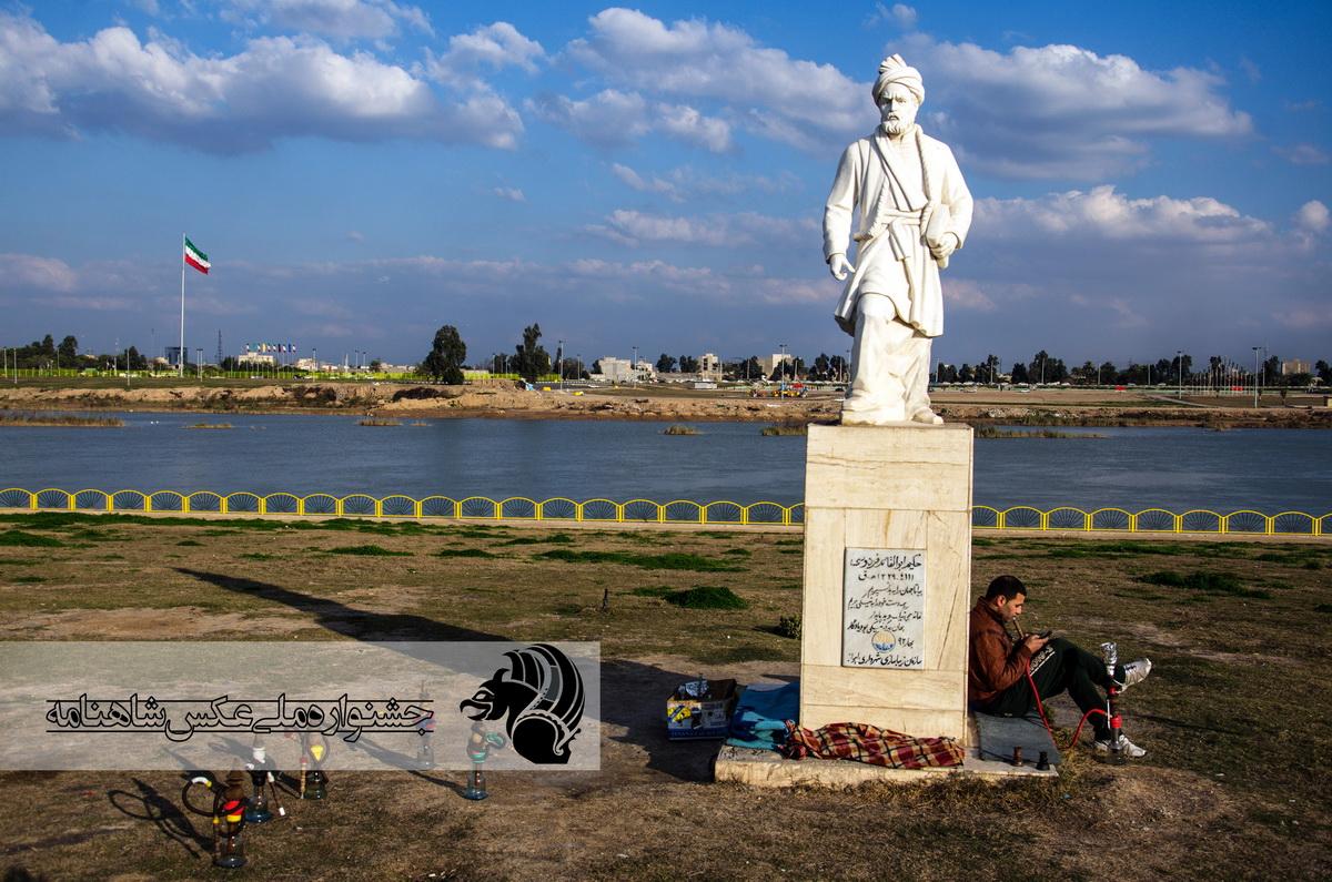 چشم انداز ناخواسته .بلوار ساحلی گلستان عکاس : علی سراج همدانی از اهواز