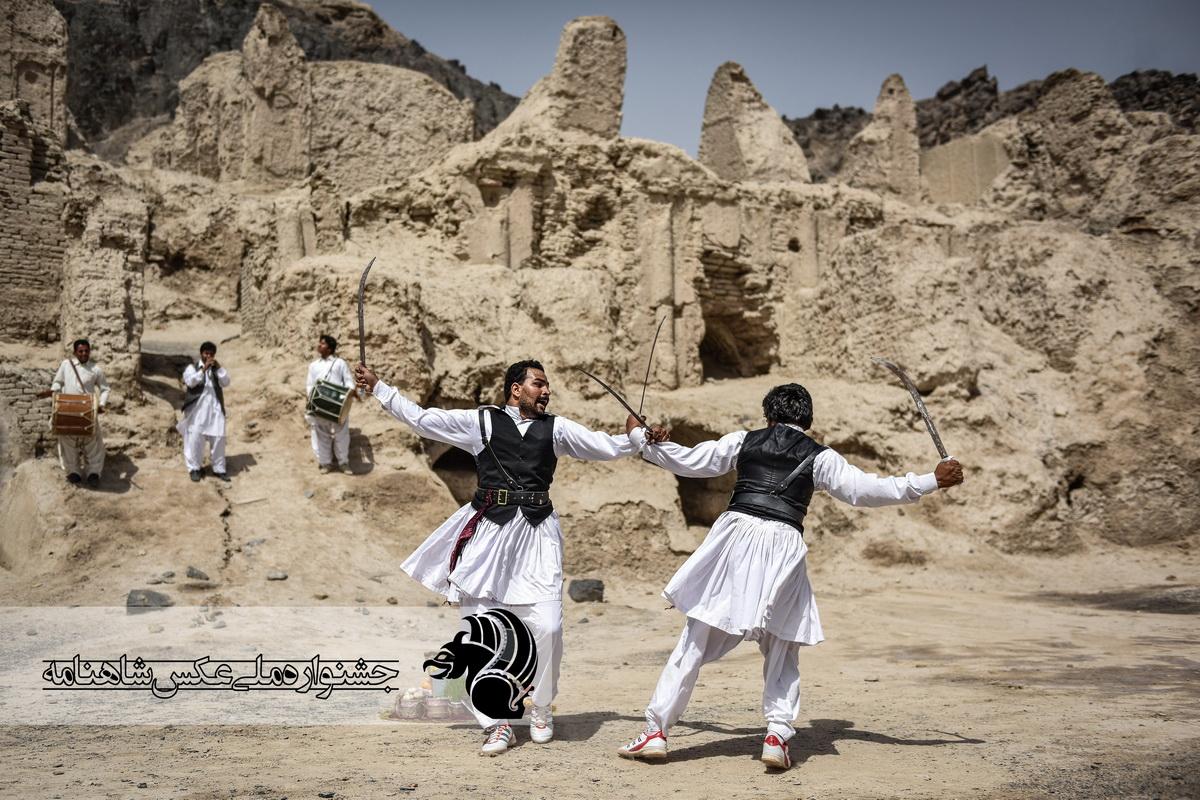 : رقص شمشیر سیستانی عکاس : امین برنجکار از شیراز