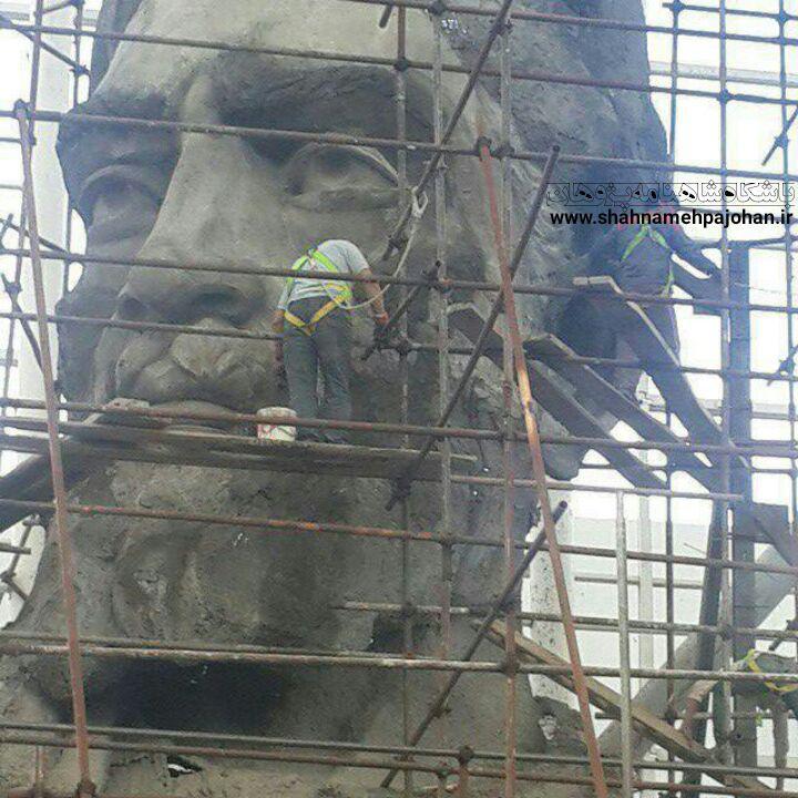 مجسمه های شاهنامه پدیده شاندیز