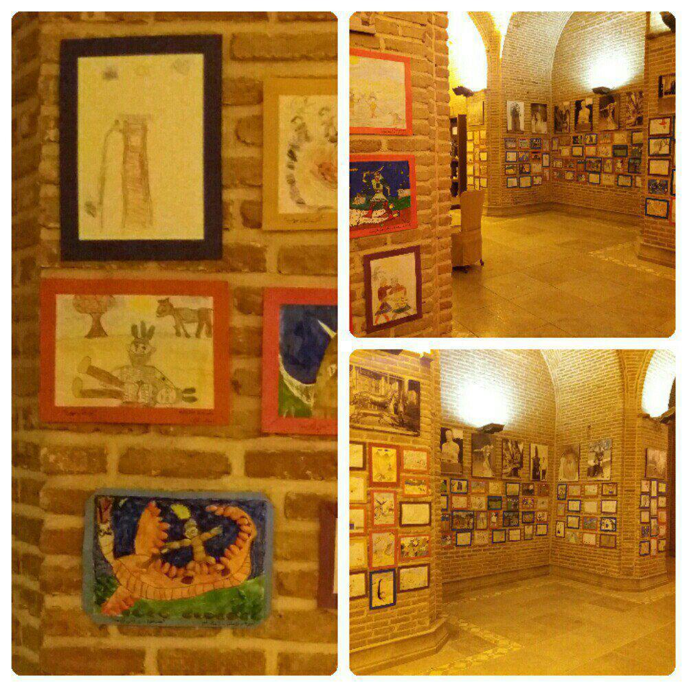 نمایشگاه نقاشی های شاهنامه ای