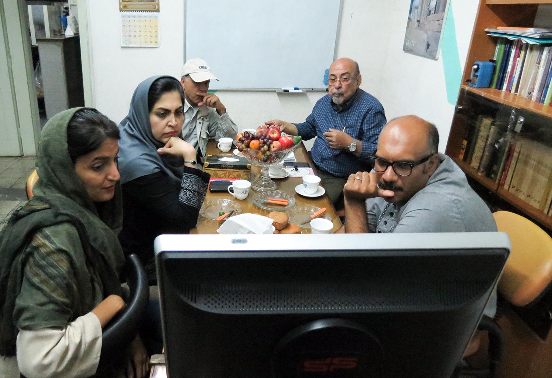 نشست دواری دومین جشنواره ملی عکس شاهنامه