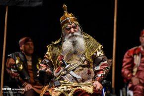 نمایش رستم و سهراب با هنرمندی توان یابان کهریزک به اجرا درآمد