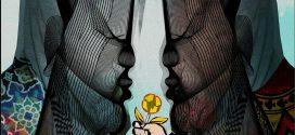آثار گرافیکی المیرا نیکنام بر مبنای شخصیت های باستانی به نمایش در می آید