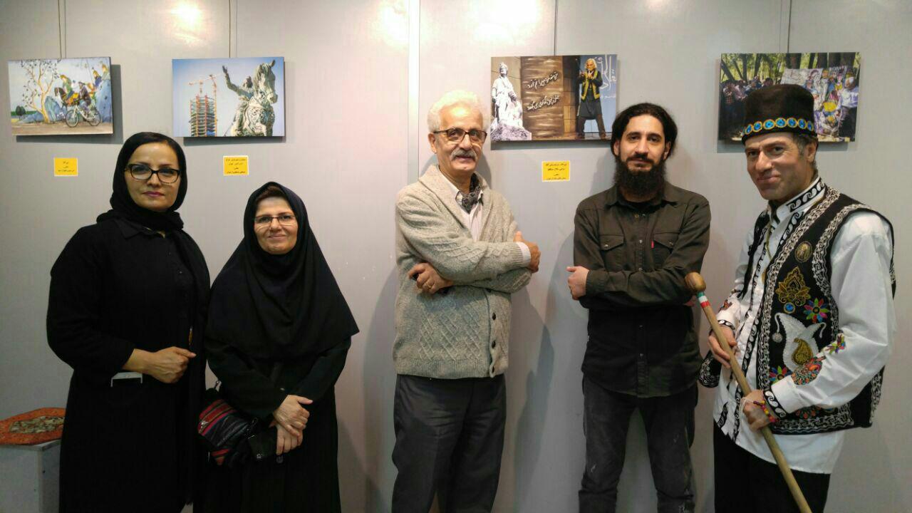 نمایشگاه دومین جشنواره ملی عکس شاهنامه در رشت