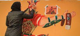 نگاهی به نگاره های شاهنامه بر دیوارههای بلوار فردوسی مشهد