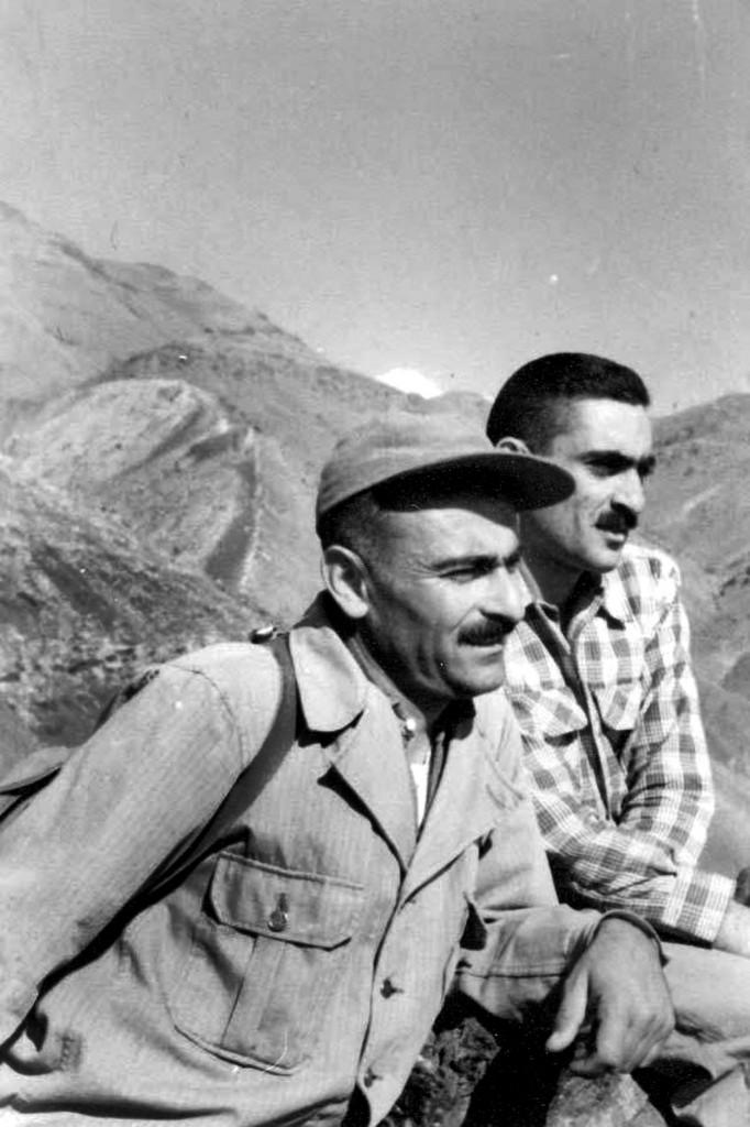 منوچهر ستوده و ایرج افشار