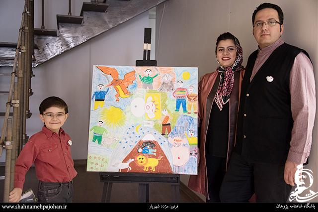 نمایشگاه نقاشی صلح با شاهنامه