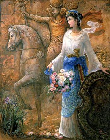 زنان شاهنامه فرانک