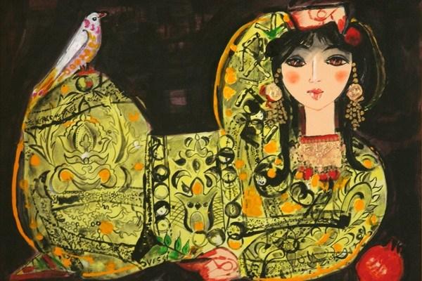 نقاشی اثر ناصر اویسی