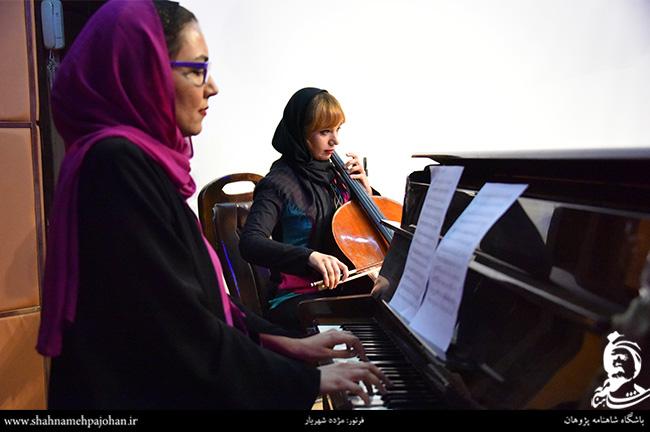 نازلی بخشایش و غزاله شیرازی