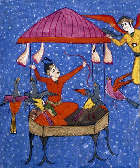 اولین داستان علمی تخیلی در ادبیات ایران: سفر کیکاوس به آسمان / عبدالرضا ناصر مقدسی