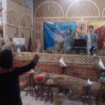 زوج شاهنامهخوان و نقال مسجدسلیمانی در زورخانه پوریای ولی