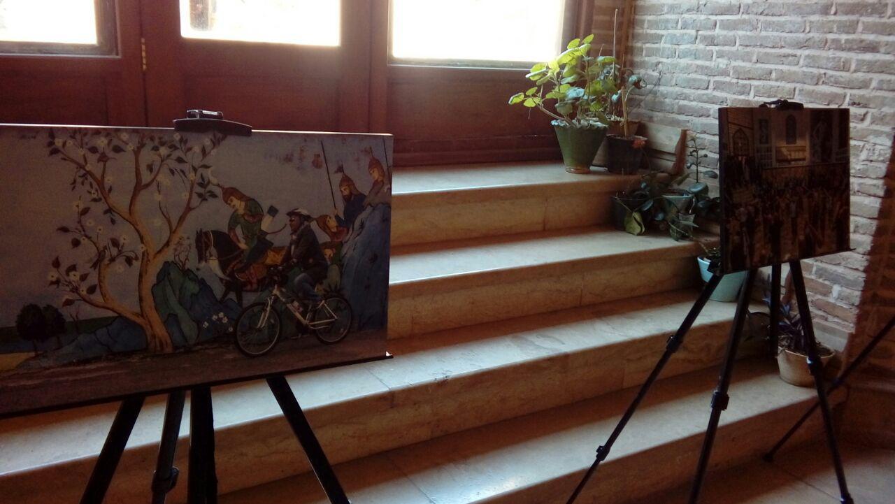 نمایشگاه دومین جشنواره ملی عکس شاهنامه در قزوین برگزار شد