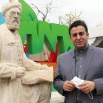 مجسمه فردوسی به زودی، بر روی پایه ای جدید و با ارتفاع استاندارد نصب شود/ حسین علیجانی