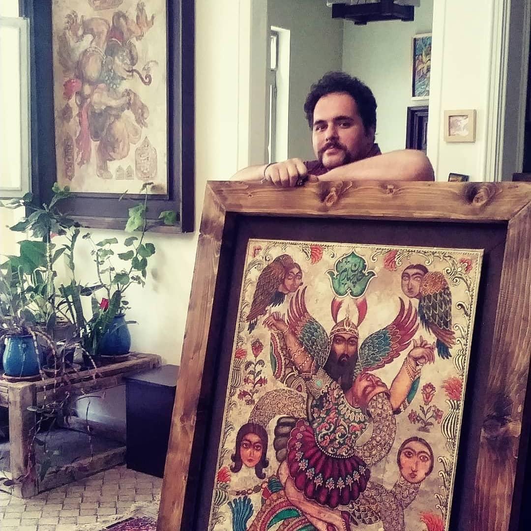 نگارگر هفت خوان رستم درگذشت