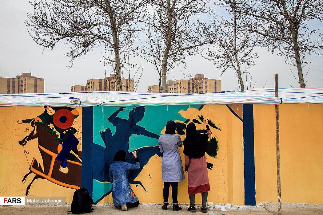 نگاهی به نقاشی دیوارههای بلوار فردوسی مشهد / بخش دوم