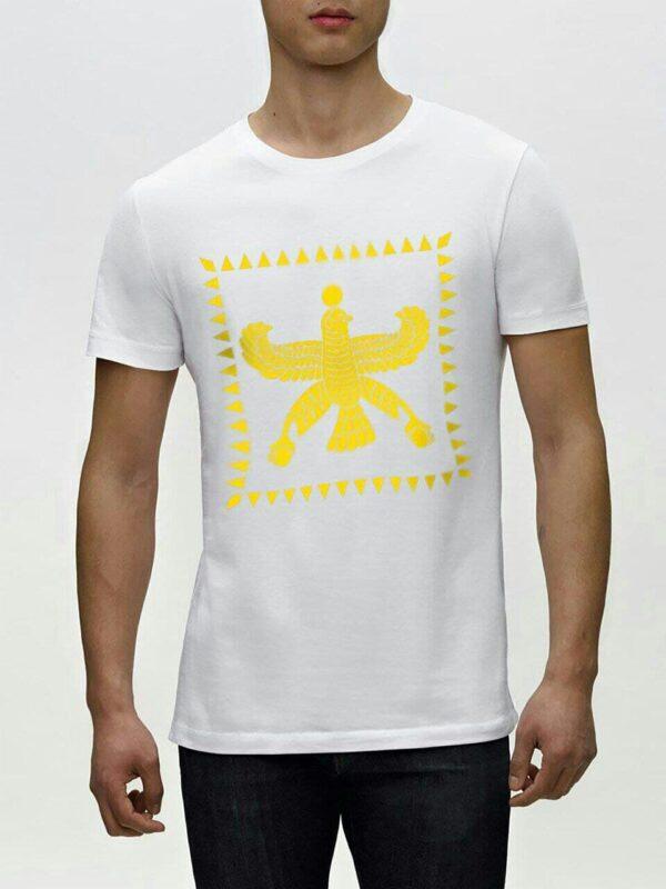 تی شرت هما نشان رنگ سفید