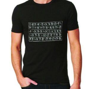 تی شرت دعای داریوش بزرگ رنگ مشکی