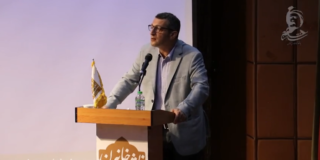 سخنرانی امیرحسین ماحوزی در آیین سپاس رستم